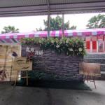 A30-12.囍宴會場入口屏風與新人影像布置