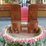 A30-30.結婚禮拜會場布置-新人座椅-比悠瑪長老教會