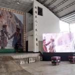 A30-5.布置囍宴會場200吋電視牆輪播新人影像回憶錄