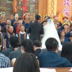 B59-47.主婚人傅梅珠牧師牧會佳崇教會信徒祝歌(佳崇教會藩仁德攝)