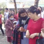 B59-7.新娘的媽媽(紅衣)與家族友人