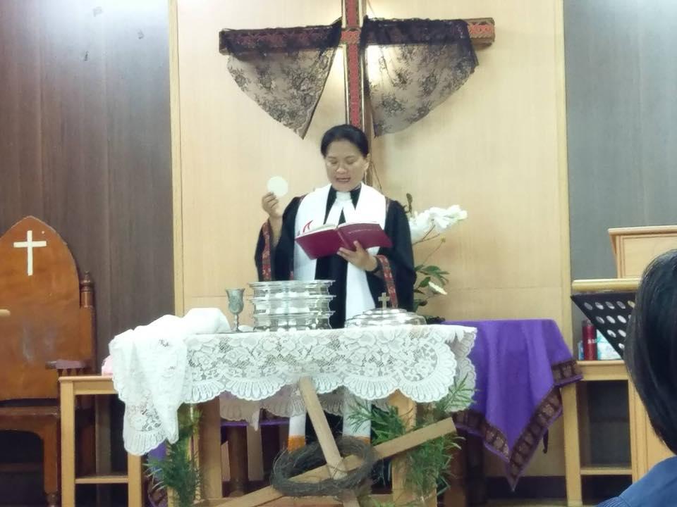 水門教會受難週聖餐禮拜
