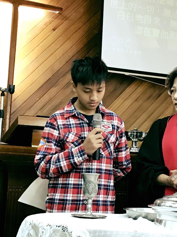 9-5.佳崇教會青少年受洗