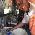 5-2.2018.6.25農糧署親來小米園蔬果園採水樣賴約翰裝水提供檢驗