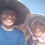 5-1.今天上午與媽媽共作農園事農。