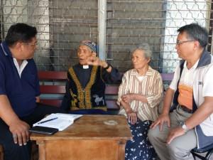 ◆大傳部部長李再祥牧師採訪退休牧師賴光雄