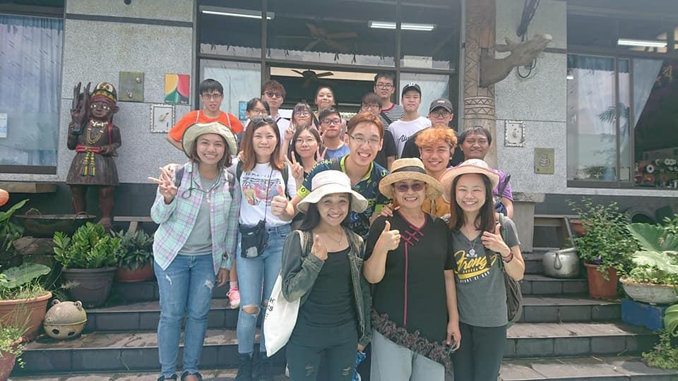 香港青年與台灣原住民
