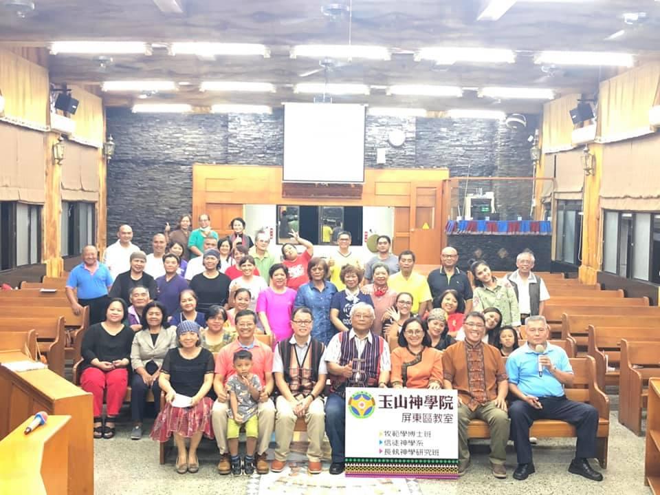 玉山神學院信徒神學系開學禱告2