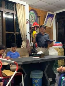 ◆從爸爸(伍恩賜)身上看見到 「委身」