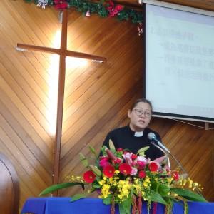 ◆新的一年,傅梅珠牧師對佳崇教會眾弟兄姊妹在屬靈生命增長有所所期待。