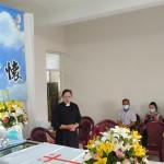 5-1.傅梅珠牧師致意慰問