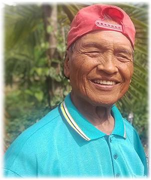 ◆生前賴光雄牧師退休後田園照。 攝影/賴約翰