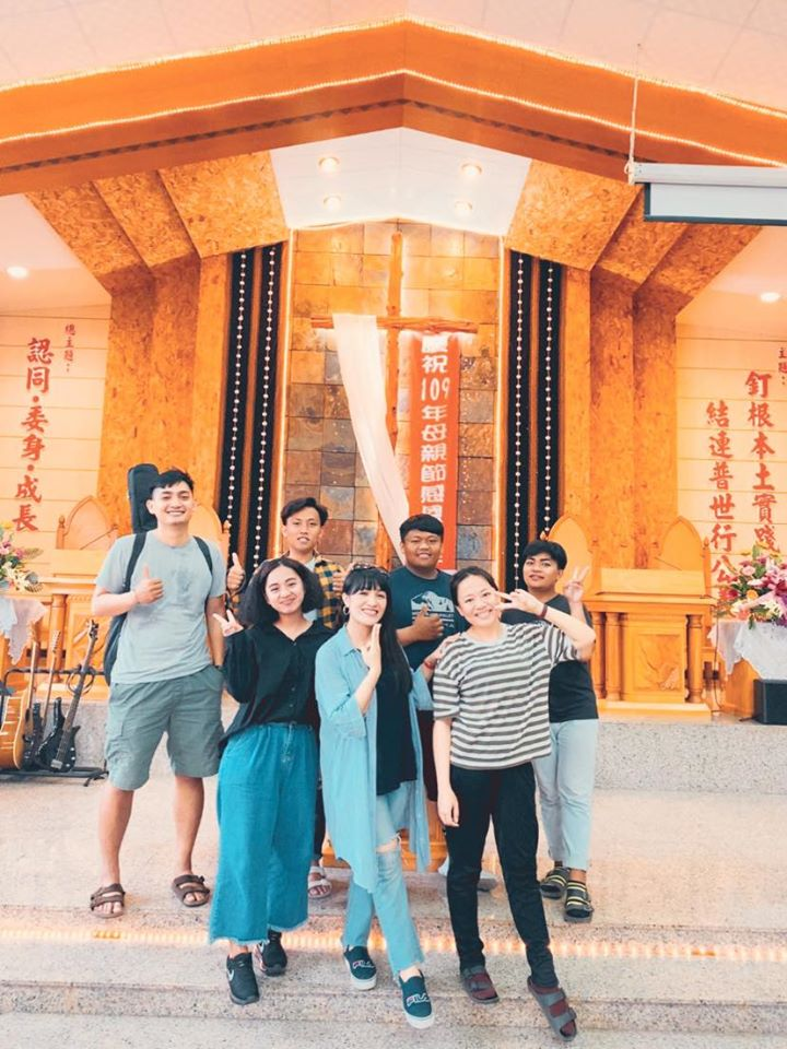 春日聯禱網青少幹部訪枋原教會