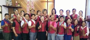長老執事就任與牧師傅梅珠留影2020年7月5日