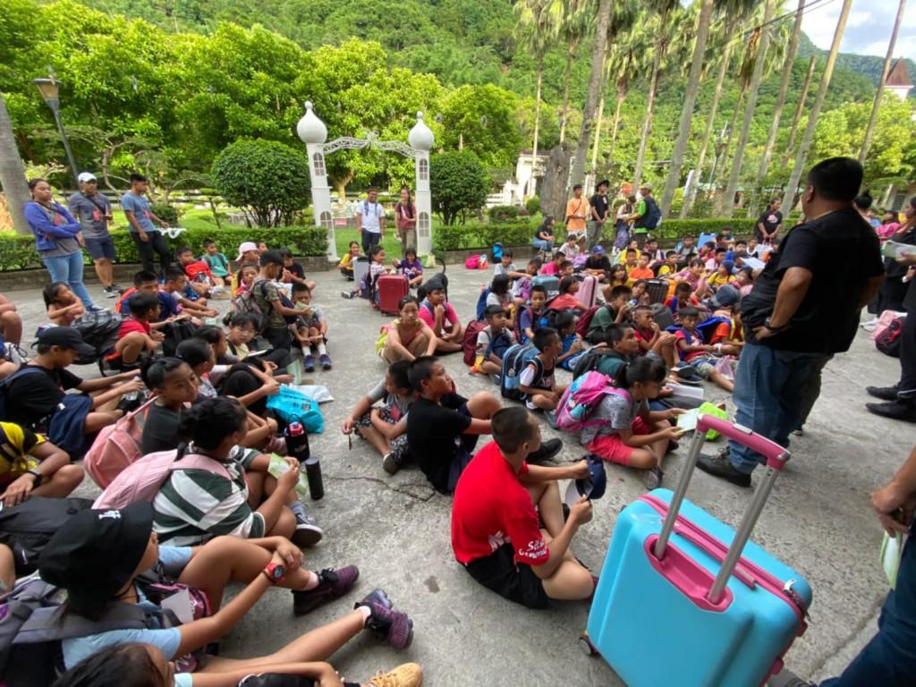 ◆請點本圖進入瀏覽影像-2020排灣中會兒童夏令營 Day1
