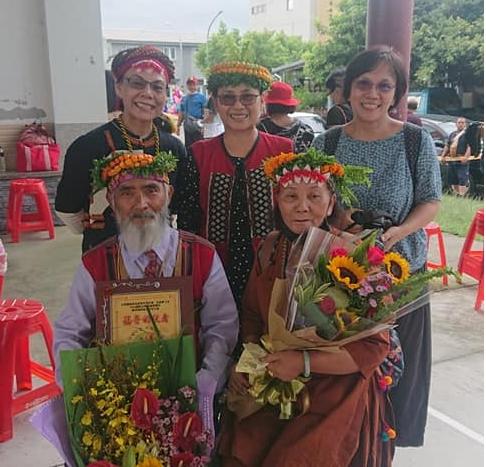 ◆達瓦達旺教會福音的使者受獎者--杜達生長老