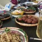 12-12.於沈秋花姊妹桌上傳統美宴