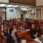 11-9.福音站母會達瓦達旺教會下午禮拜後信徒練歌