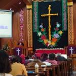 7-1.受洗當日亦是比悠瑪教會新任2021年各團契幹部授職就任