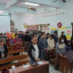 7-7.頌榮後傅梅珠牧師為信徒祝福禱告