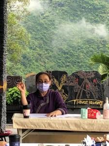 ◆大眾傳播事工部會議於達瓦達旺教會,部長蔡愛蓮牧師主持會議。 攝影/蔡愛桂牧師 2021/6/28