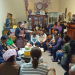 9-7傅梅珠牧師禱告感恩主教會弟兄姊妹的協助以及祝福邱春香執事生日